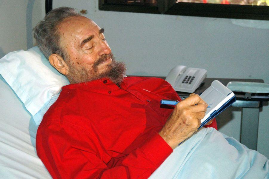 Fidel Castro, photographié en août 2006.