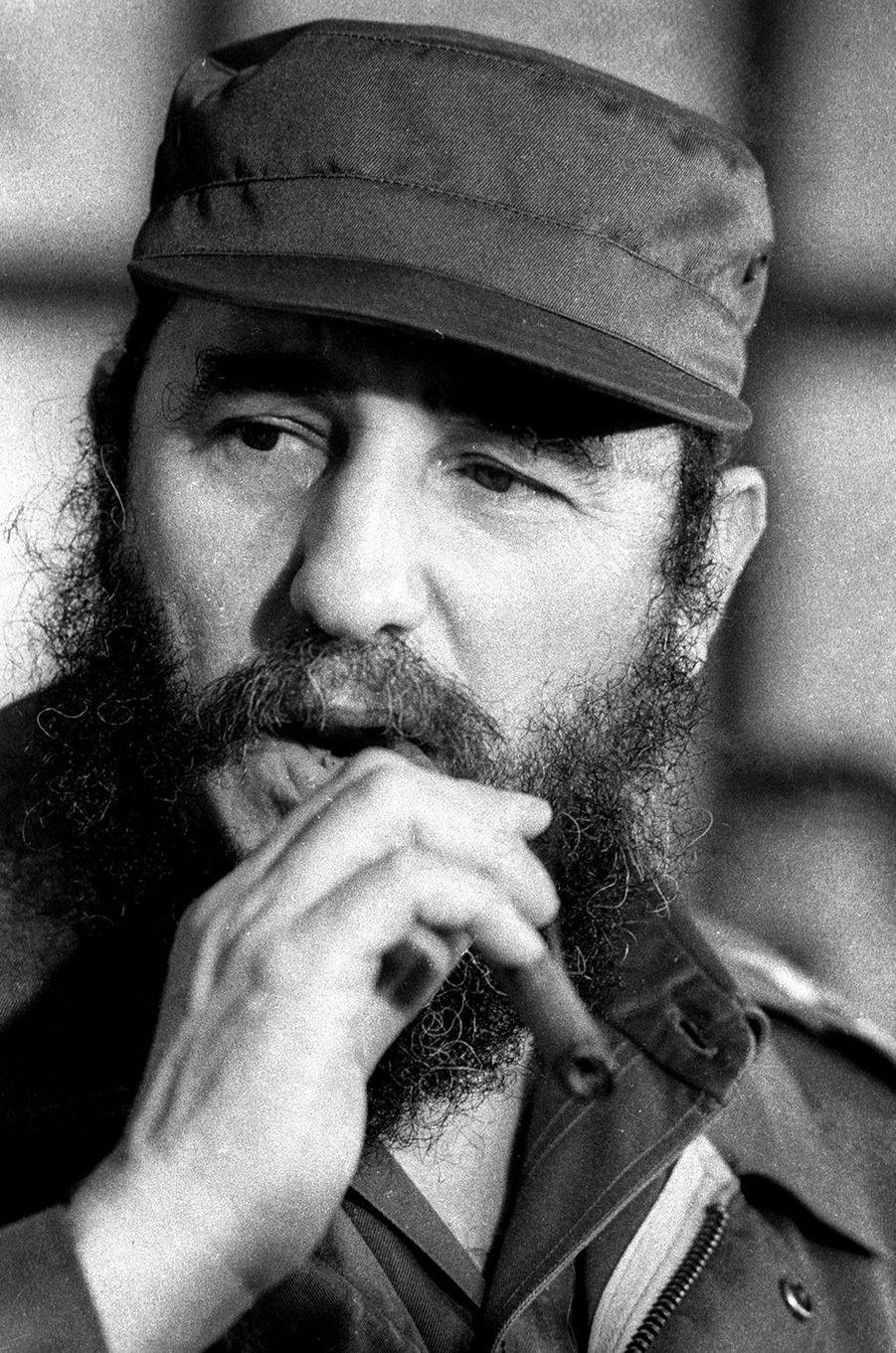 Fidel Castro, photographié en décembre 1976.
