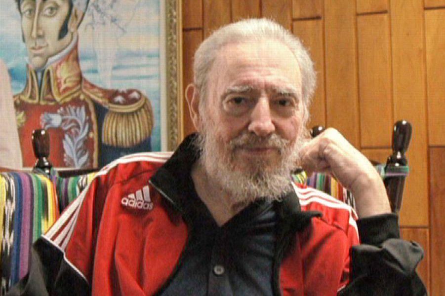 Fidel Castro, photographié en janvier 2008.