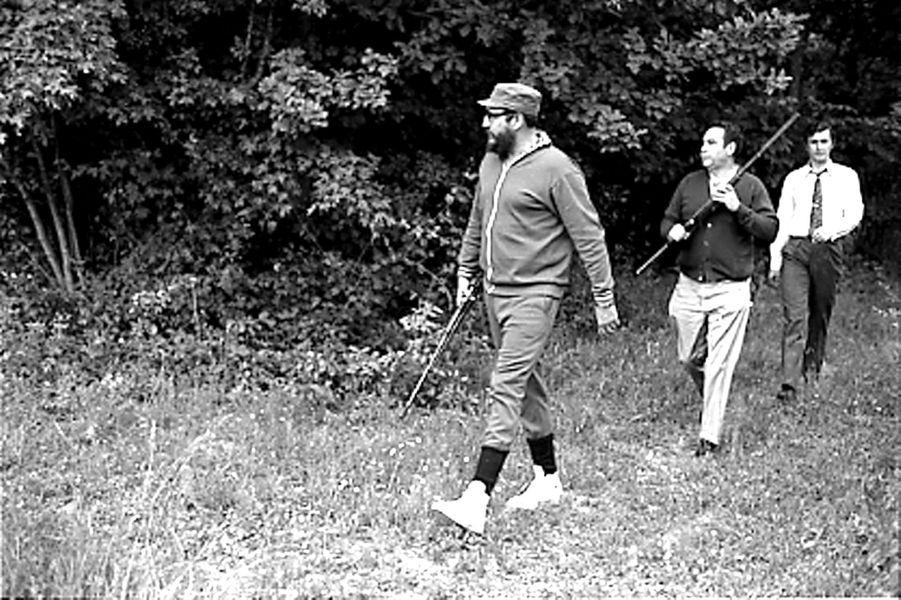 Fidel Castro, photographié en mai 1972.