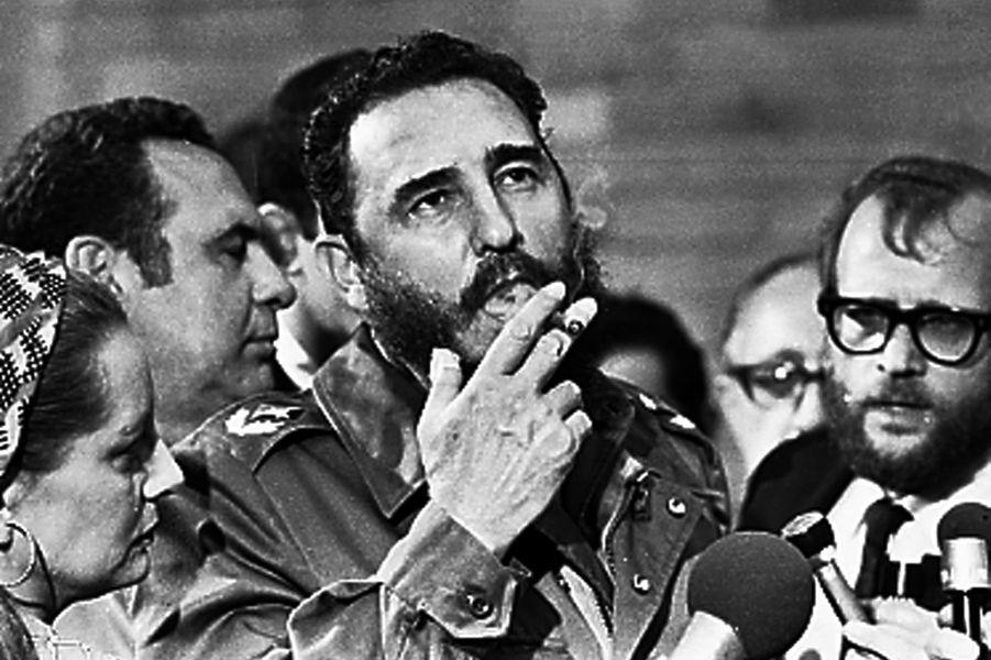 Fidel Castro, photographié en mai 1975.