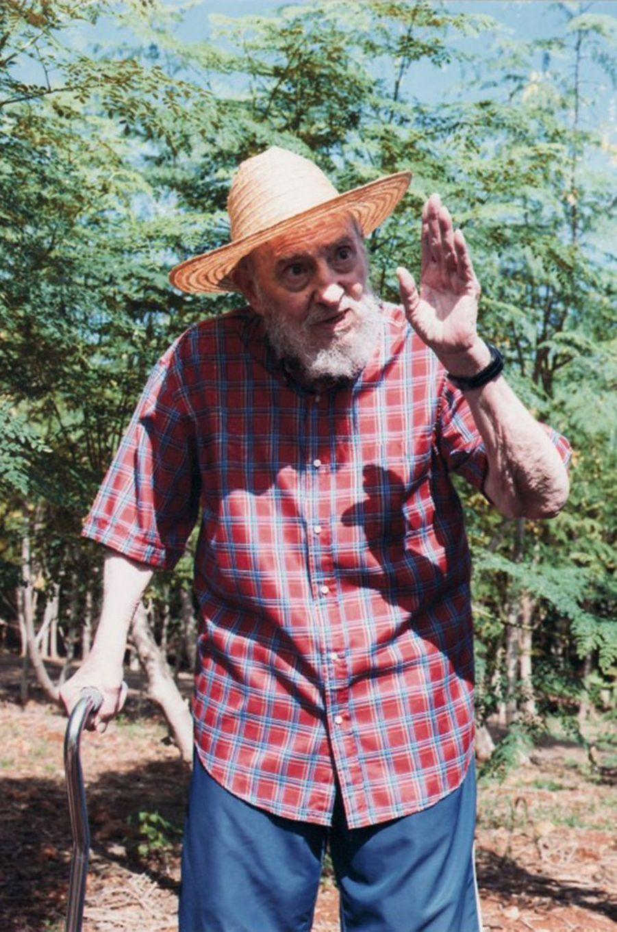 Fidel Castro, photographié en octobre 2012.