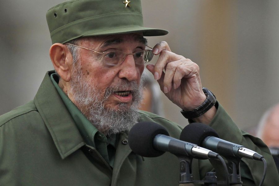 Fidel Castro, photographié en septembre 2010.