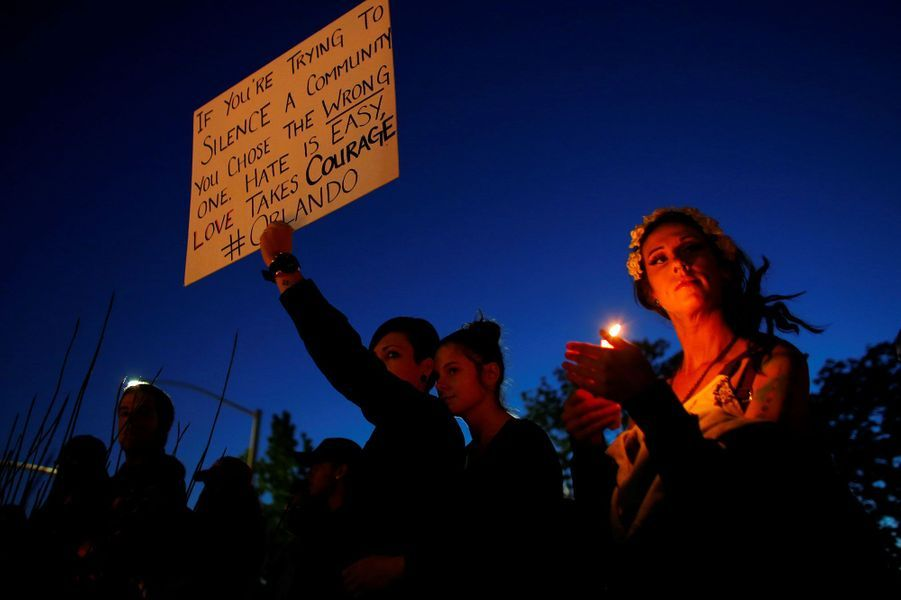 Fusillade à Orlando: l'hommage aux victimes