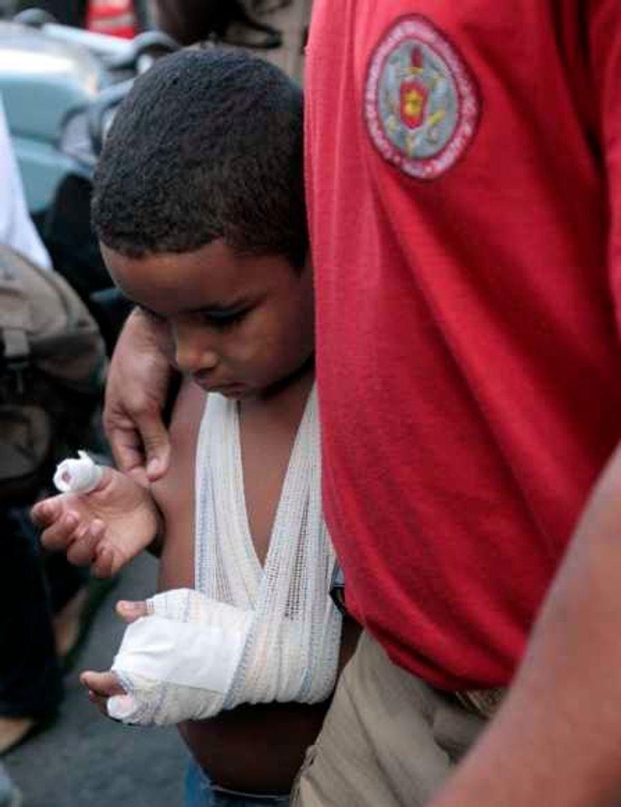 Enfant blessé