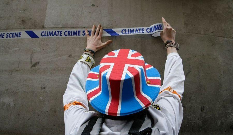 """""""Scène de crime climatique"""""""