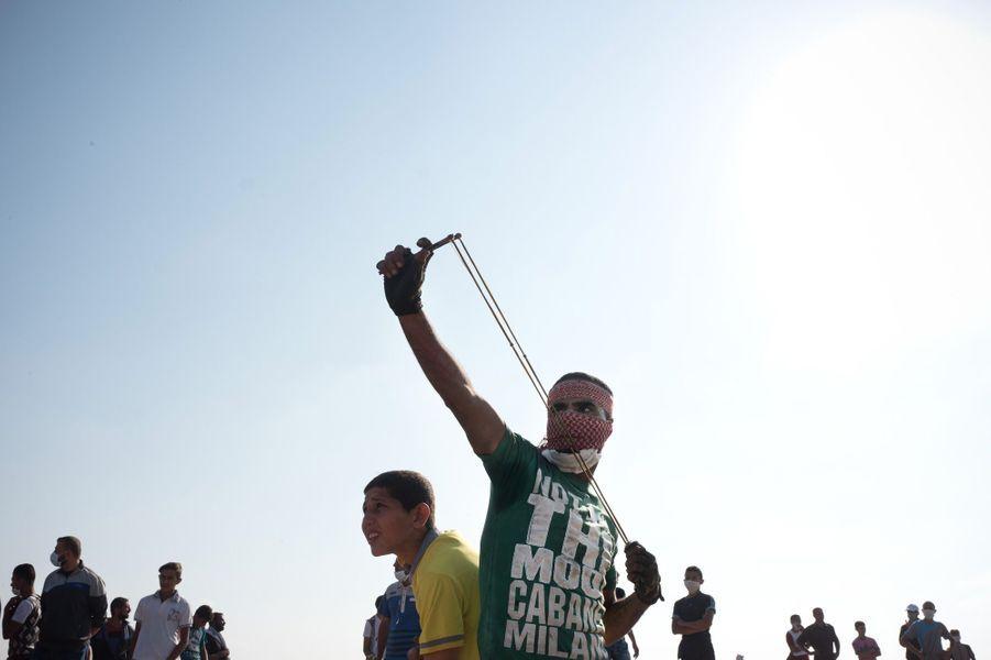 Manifestation du 15 mai à Malaka.