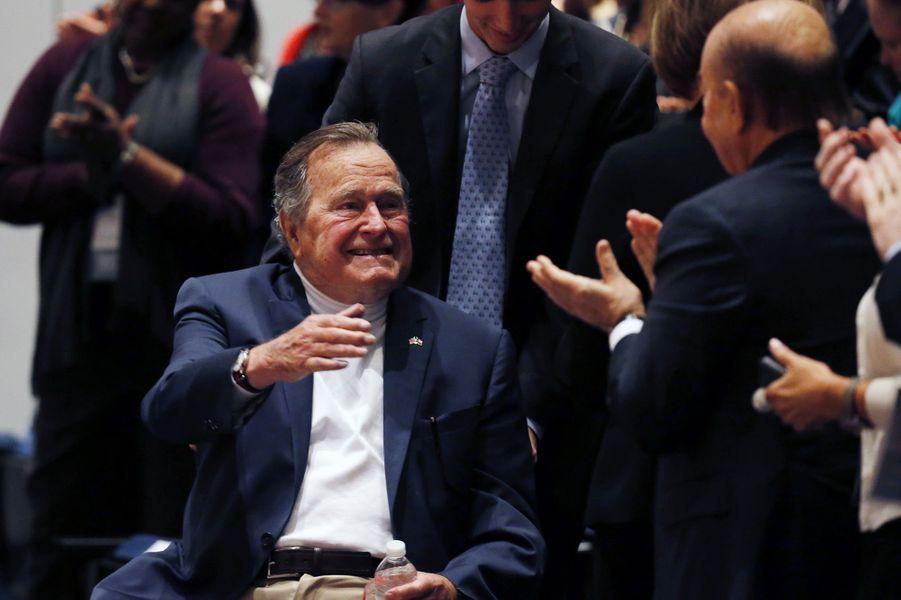 George H W Bush au Texas en novembre 2004