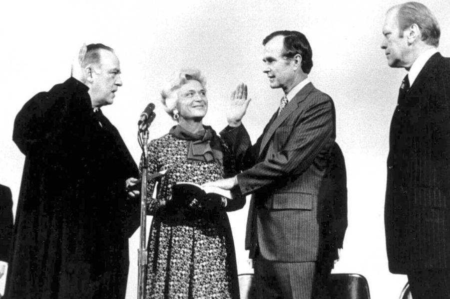 George H W Bush est nommé directeur de la CIA en janvier 1976