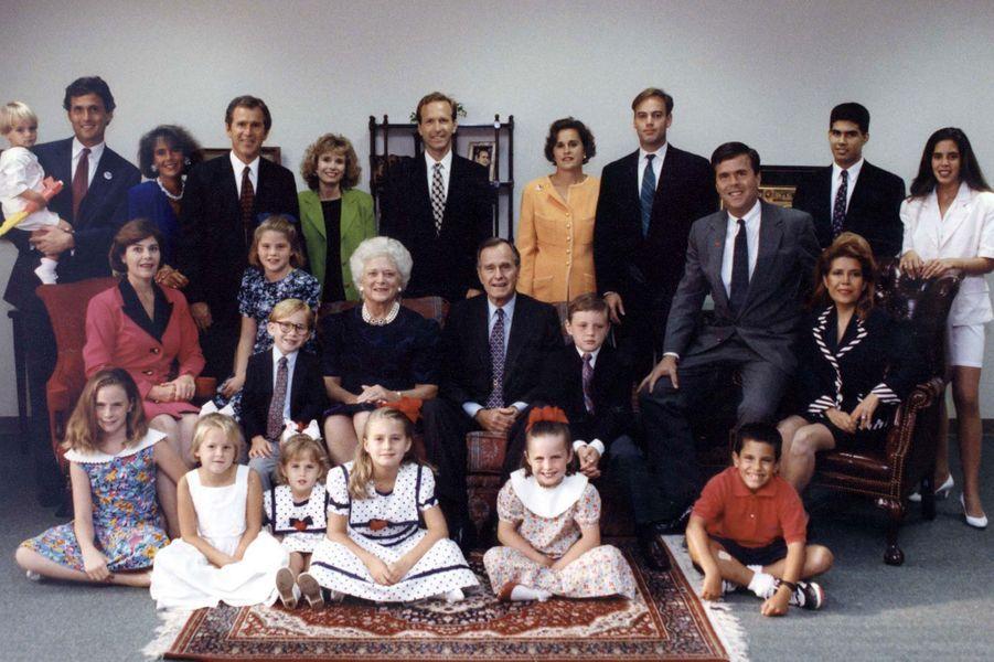 Portrait de famille en 1992
