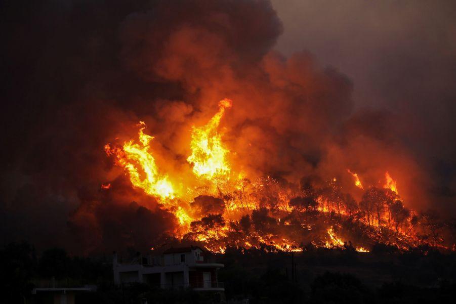 4000 habitants ont été évacués.