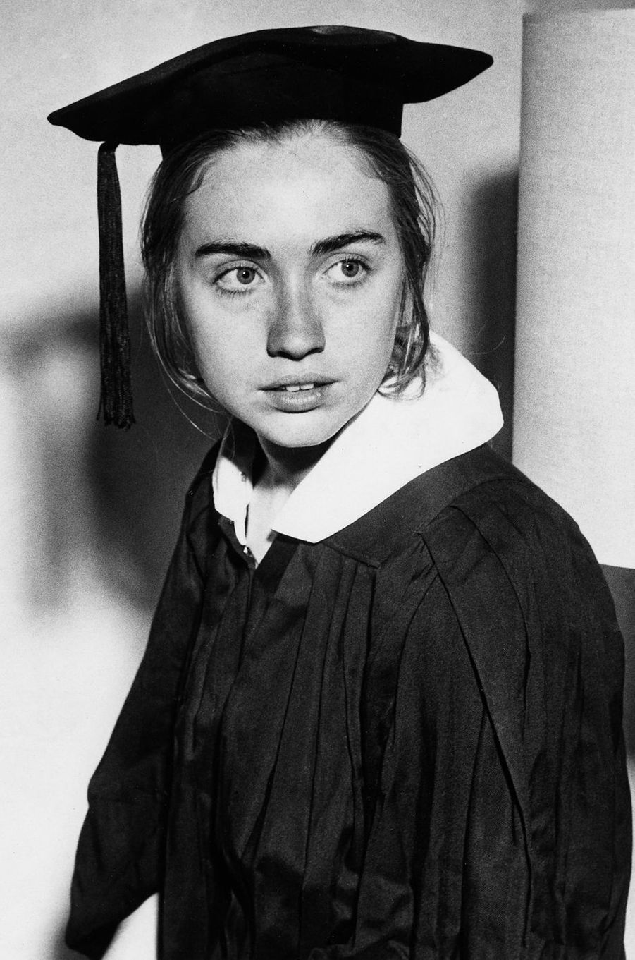 Hillary Clinton diplômée, en 1969.