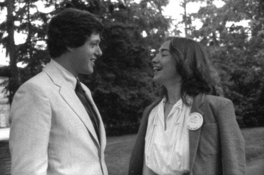 Bill et Hillary Clinton en 1969 auWellesley College.