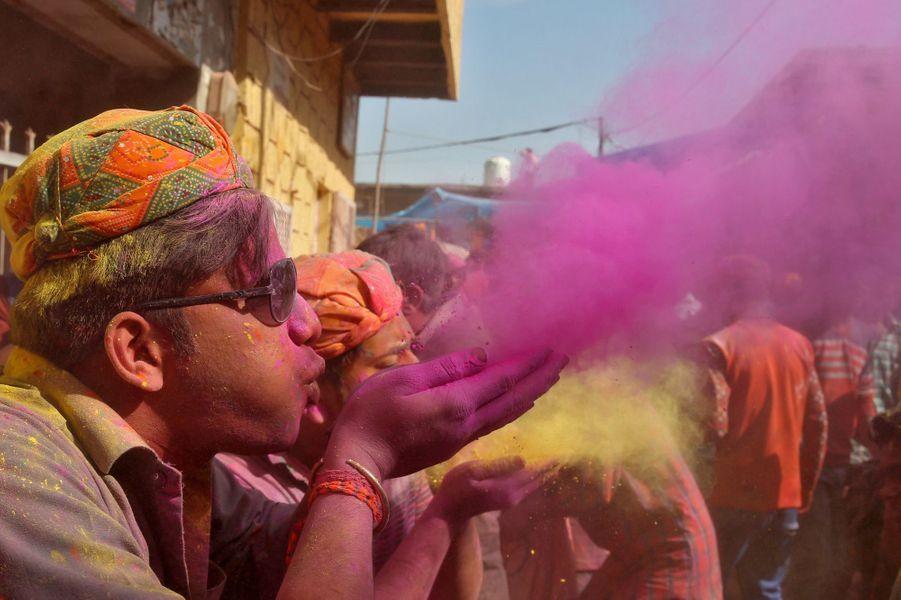 Le Holi Festival en Inde