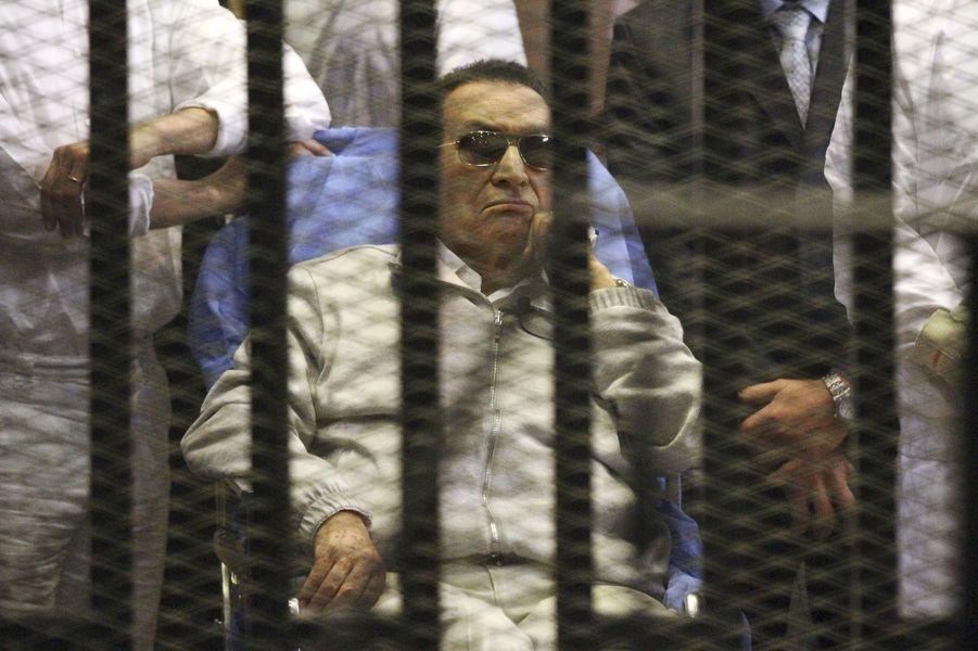 Hosni Moubarak en avril 2013.