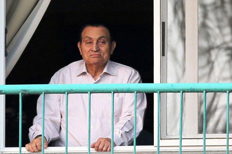 Hosni Moubarak en octobre 2016.