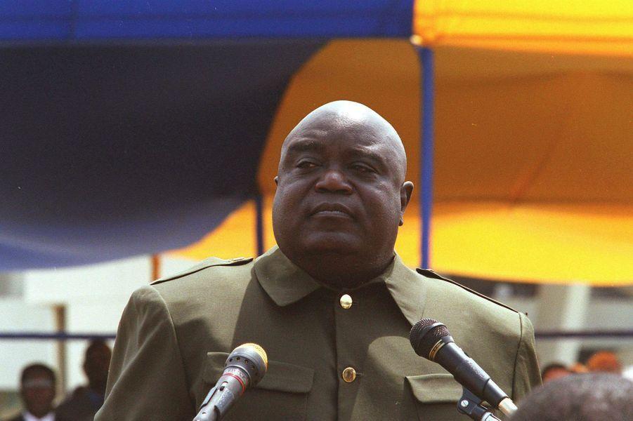 Laurent Désiré Kabila à Kinshasa, RDC.
