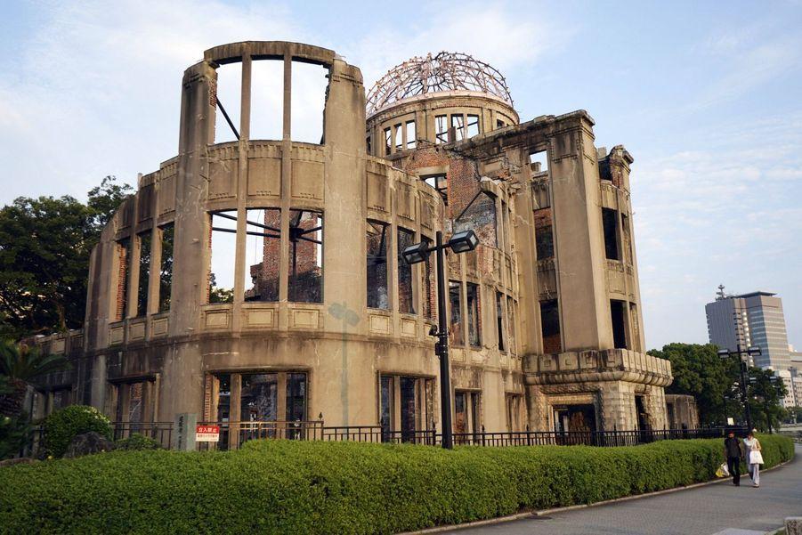 Le dôme de la bombe atomique.