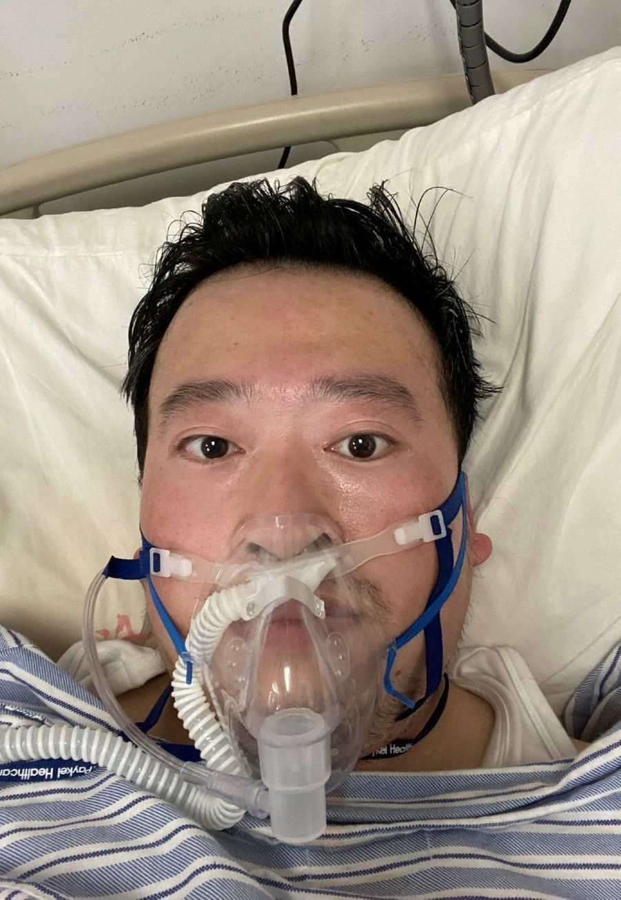 Le docteurLi Wenliang avait été arrêté par les autorités chinoises après avoir lancé l'alerte sur le coronavirus. Il est mort du virus le 7 février à 33 ans