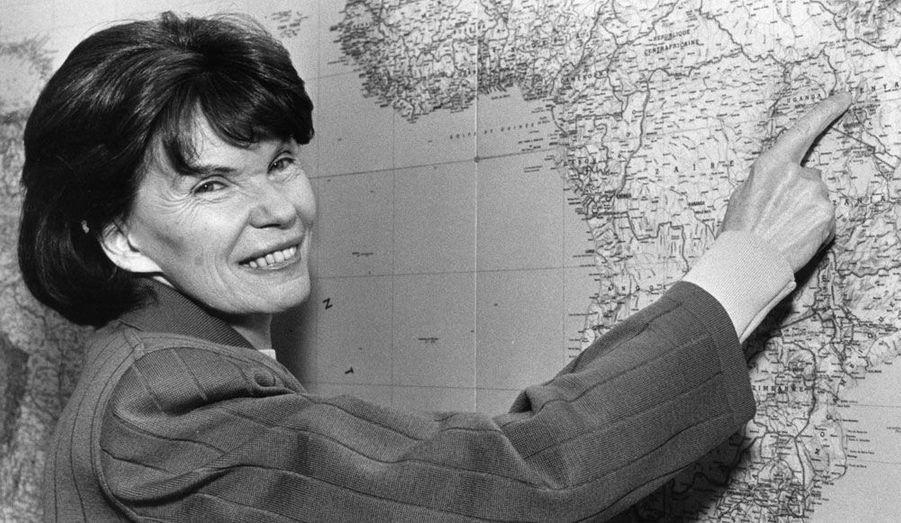 La veuve de François Mitterrand est morte le 22 novembre à l'âge de 87 ans. Première dame atypique, militante engagée à gauche, elle n'a jamais renoncé à ses combats à la tête de la fondation France Libertés.
