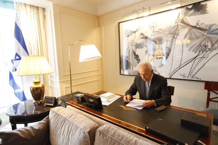 Shimon Peres - mort le 28 septembre 2016A lire :En 2013, Shimon Peres s'était confié à Paris Match