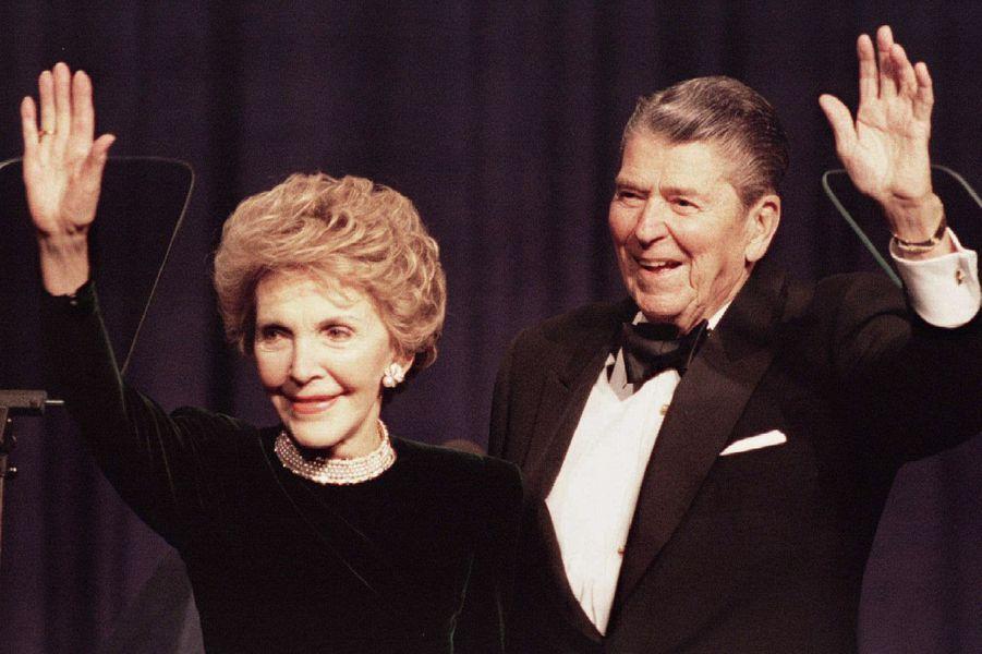 Nancy Reagan – morte le 6 mars 2016A lire :Ronald et Nancy Reagan, une grande histoire d'amour