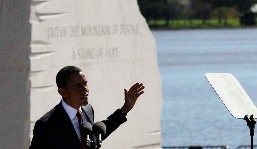 Le discours d'un président reconnaissant