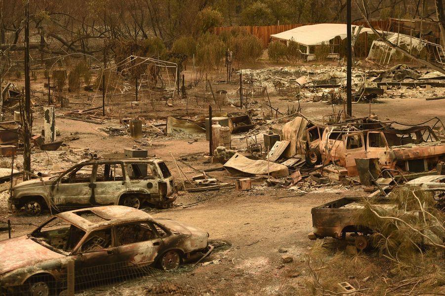Des paysages de désolation de laSpring Valley, en Californie