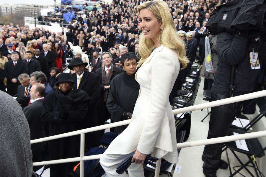 Ivanka Trumpà l'investiture de Donald Trump, le 20 janvier 2017.