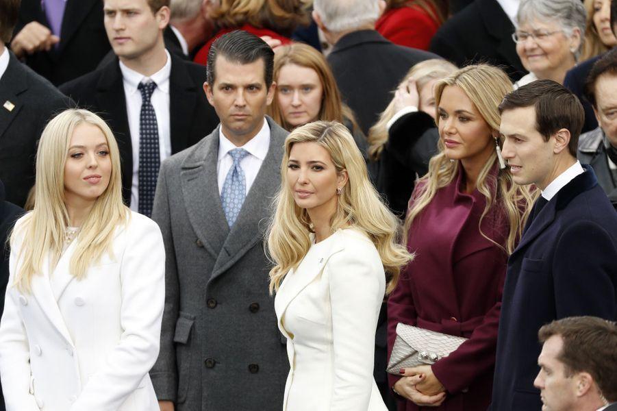 Les enfants de Donald Trumpà l'investiture de Donald Trump, le 20 janvier 2017.