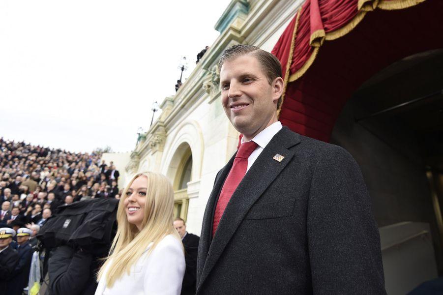 Tiffany et Eric Trumpà l'investiture de Donald Trump, le 20 janvier 2017.