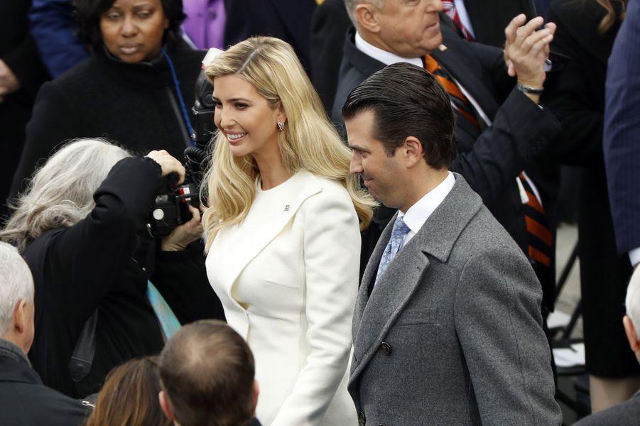 Ivanka et Donald Trump Jrà l'investiture de Donald Trump, le 20 janvier 2017.