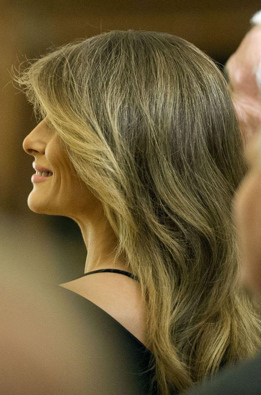 Melania Trump à la Maison Blanche, le 28 mars 2017.