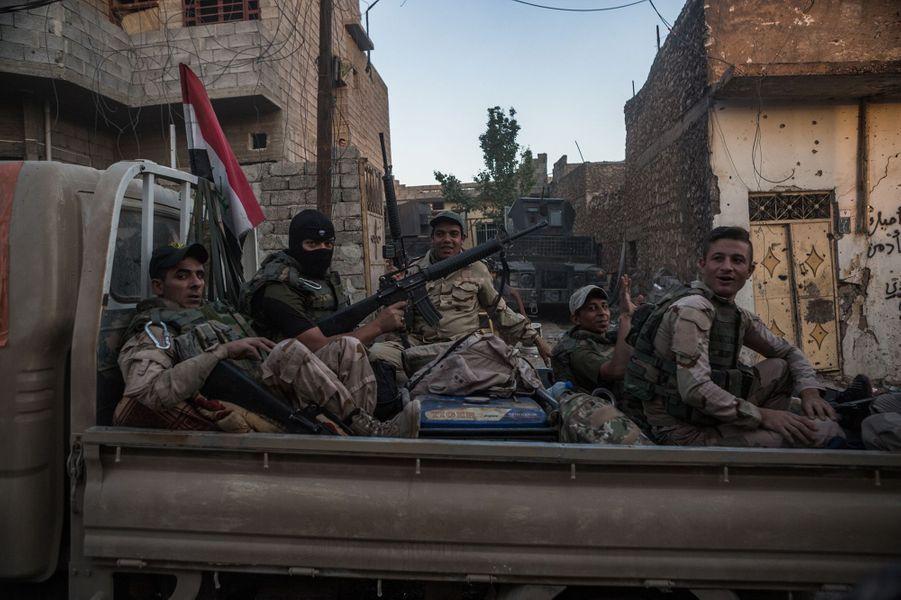 Images de Mossoul Ouest, juin 2017.
