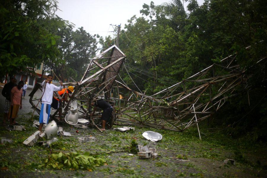 Le chaos en République dominicaine.