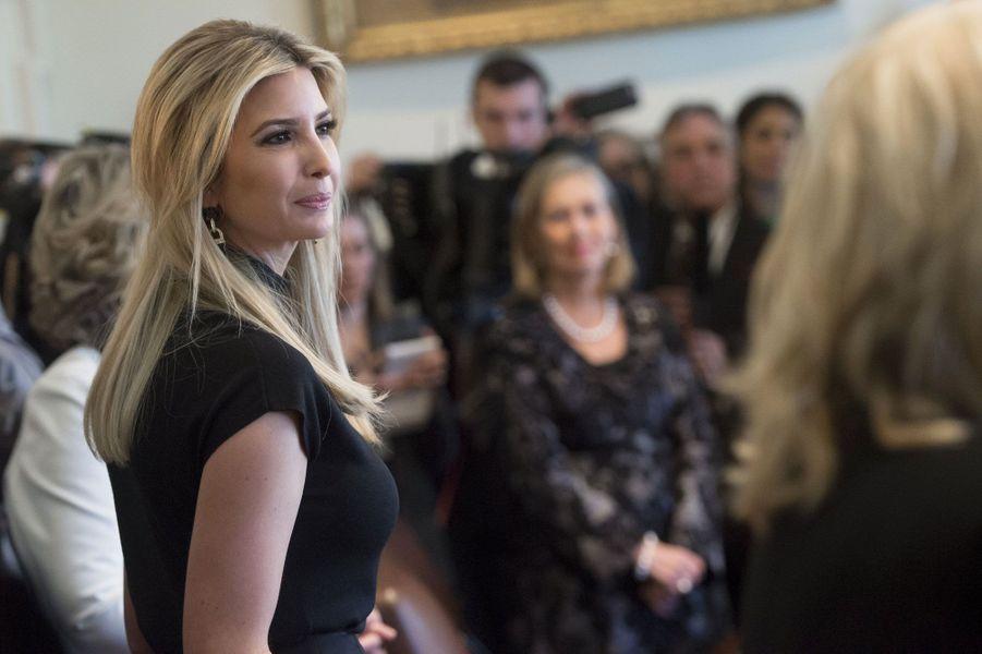 Ivanka Trump lundi à la Maison Blanche.