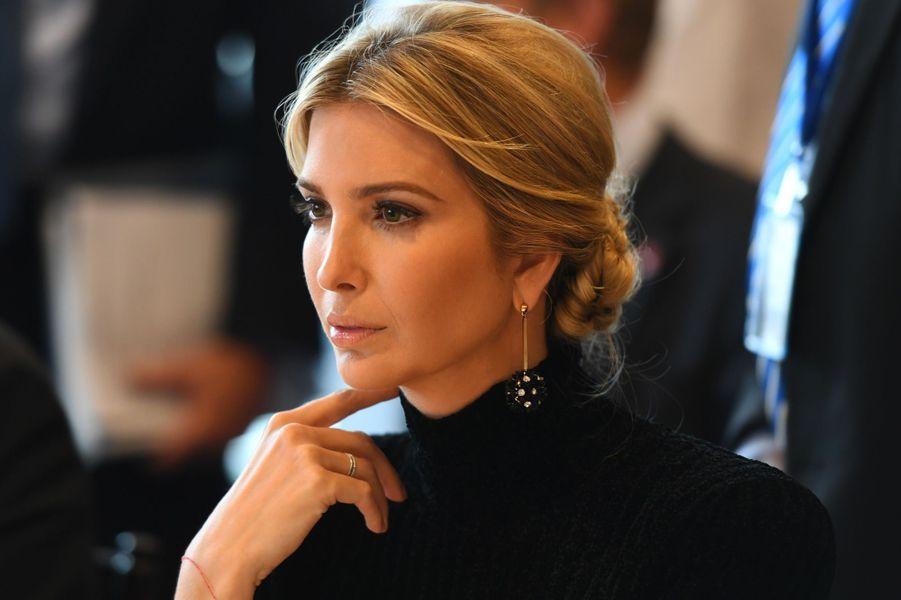 Ivanka Trump au siège des Nations unies, le 19 septembre 2017.