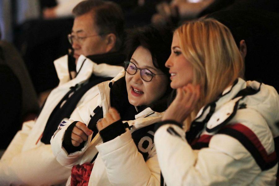 Ivanka Trump etKim Jung-sook, l'épouse du président de Corée du Sud