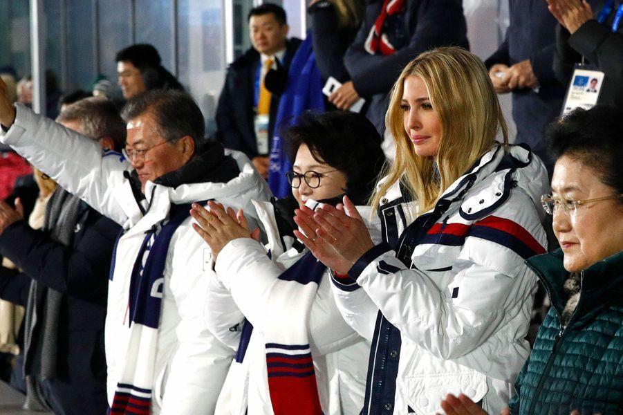 Ivanka Trump à la cérémonie de clôture des JO d'hiver dimanche
