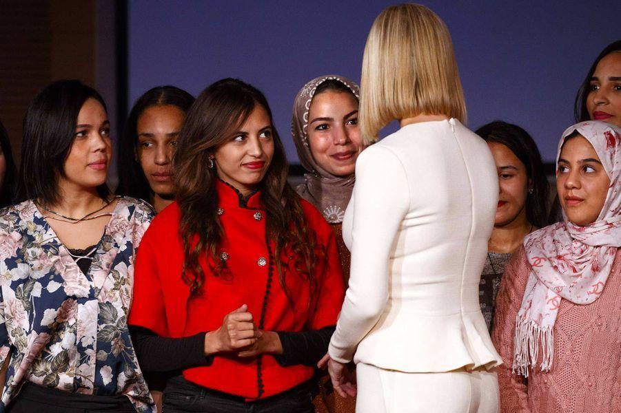 Ivanka Trump au Palais des Congrès de Rabat, au Maroc, le 8 novembre 2019.