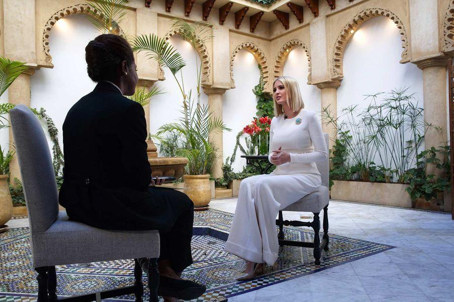 Ivanka Trump à Rabat, au Maroc, le 8 novembre 2019.