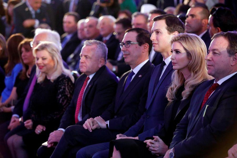 Ivanka Trump et Jared Kushner à Jérusalem, le 13 mai 2018.