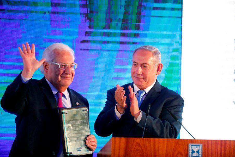Benjamin Netanyahou à Jérusalem, le 13 mai 2018.