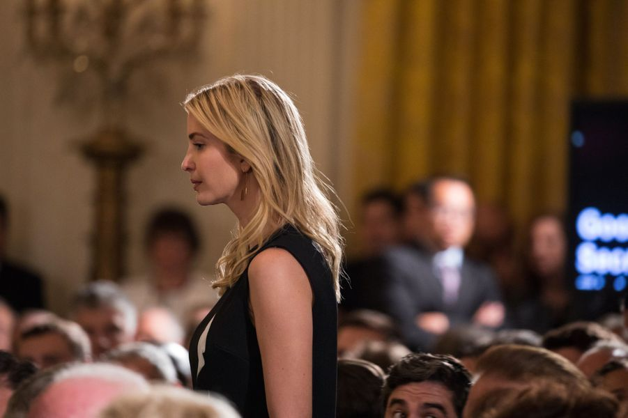 Ivanka Trump à la Maison Blanche, le 5 juin 2017.