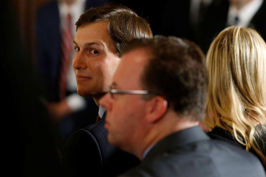 Jared Kushner à la Maison Blanche, le 5 juin 2017.