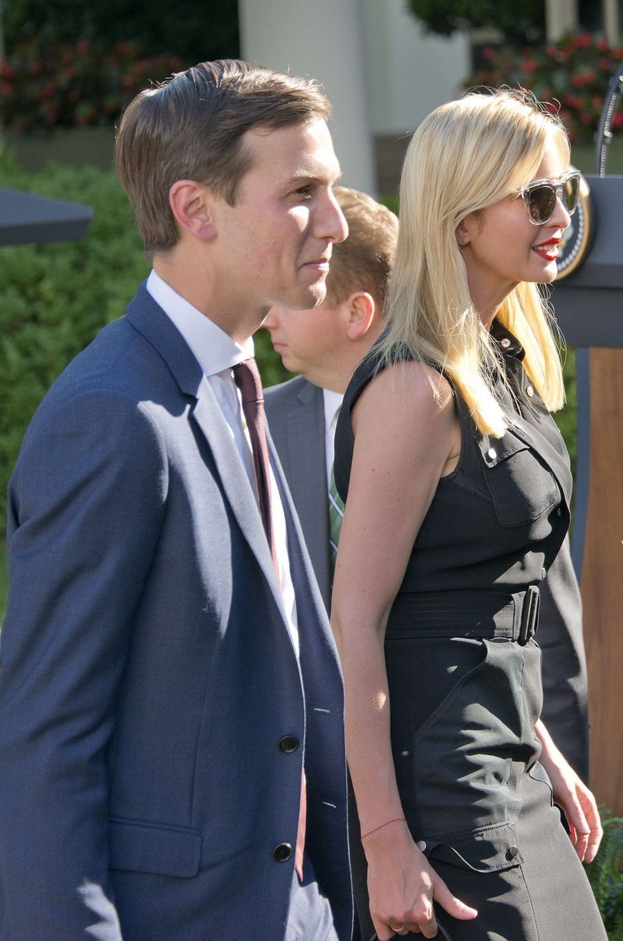 Ivanka Trump et Jared Kushner à la Maison Blanche, le 26 juin 2017.