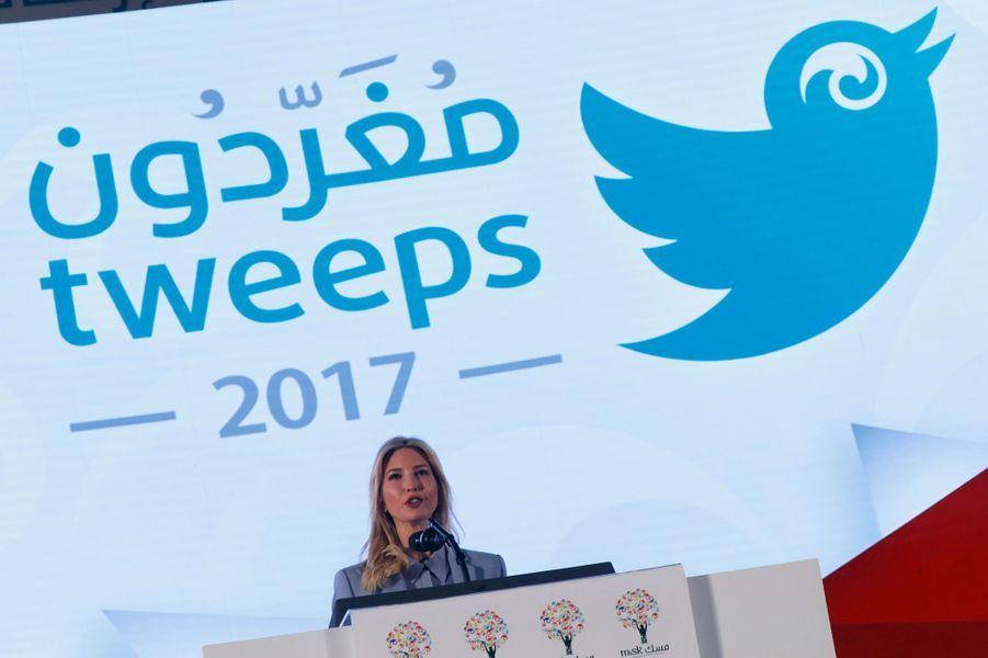 Ivanka Trump en Arabie Saoudite, le 21 mai 2017.