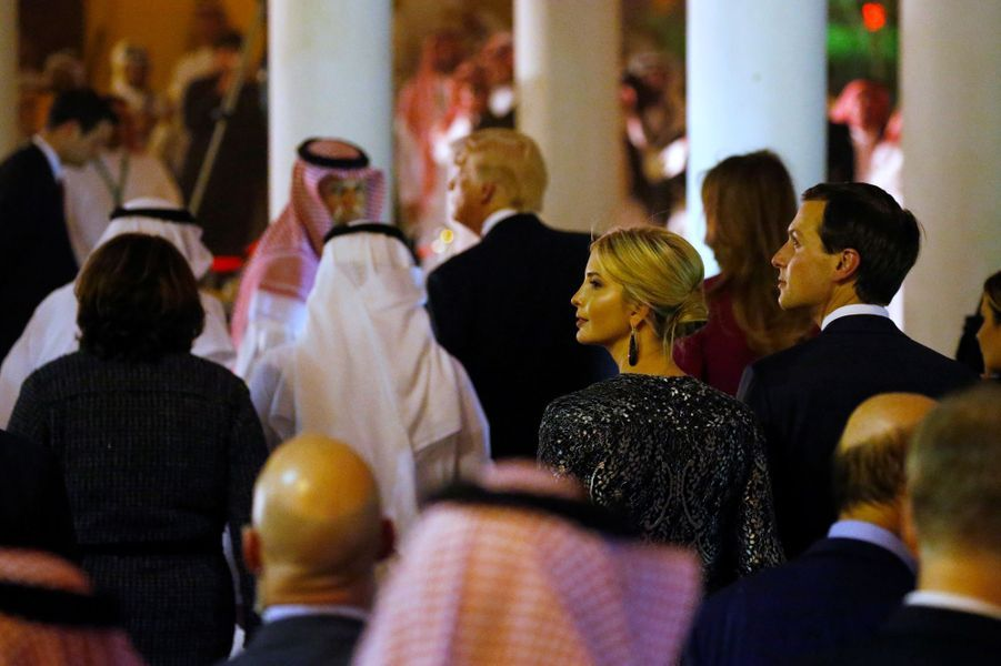 Ivanka Trump en Arabie Saoudite, le 20 mai 2017.