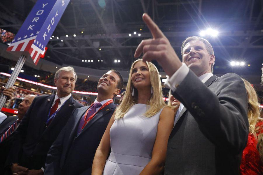 Ivanka Trump à la convention républicaine, en juillet 2016.