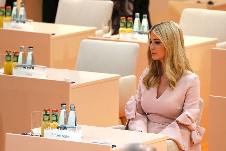 Ivanka Trump au G20 à Hambourg, en juillet 2017.